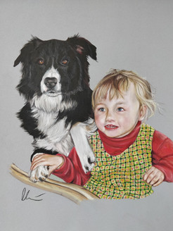 Child And Collie