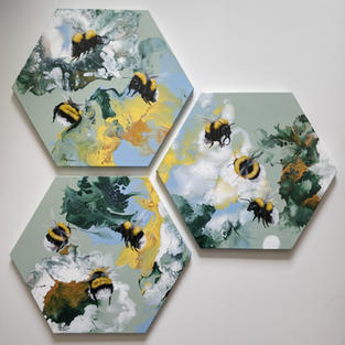 Forget-me-not Bees