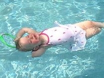 swimming lessons, swim-float-swim and roll to float! Oviedo, Winter Springs, Chuluota, Geneva: Little Otters Swim Academy gets results!