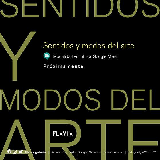 Sentidos y modos del arte _ Portada y Om