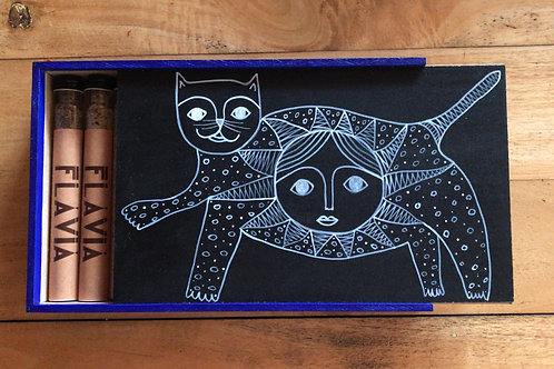 ¡Especieros chingones! Gato negro