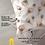 Thumbnail: Комплект постельного белья Бежевые перья павлина