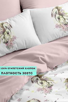 Комплект постельного белья Лошадки
