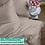 Thumbnail: Однотонное постельное белье из тенселя, цвет топленое молоко
