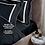 Thumbnail: Отельное постельное белье Rico, черное с белыми полосами