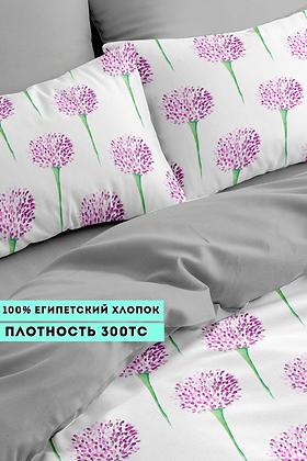 Комплект постельного белья Круглые цветы