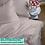 Thumbnail: Однотонное постельное белье из тенселя, цвет темная пудра