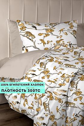 Комплект постельного белья Золотые леопарды