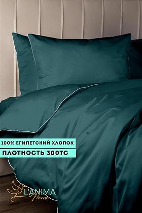 Комплект постельного белья Изумруд Премиум Сатин