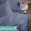 Thumbnail: Однотонное постельное белье из тенселя, цвет черника