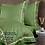 Thumbnail: Отельное постельное белье Simple,цвет травяной  с белой  полосой