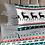 Thumbnail: Комплект постельного белья Олени орнамент
