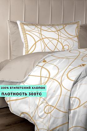 Комплект постельного белья Цепи(золото)