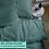 Thumbnail: Однотонное постельное белье из тенселя, цвет хвоя