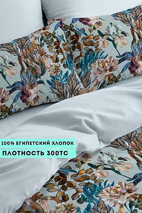 Комплект постельного белья Гербарий из цветов