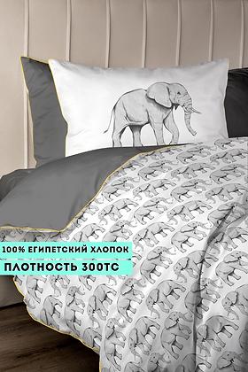 Комплект постельного белья Слоны