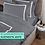 Thumbnail: Отельное постельное белье Rico,цвет графит