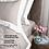 Thumbnail: Отельное постельное белье Megan, бежевое с белой  полосой