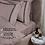 Thumbnail: Отельное постельное белье Rico,цвет пудровый