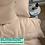 Thumbnail: Однотонное постельное белье из тенселя, цвет солнечный беж