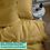 Thumbnail: Однотонное постельное белье из тенселя, цвет золото
