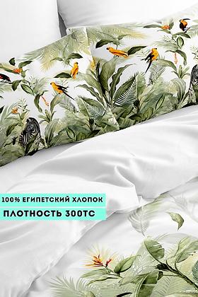 Комплект постельного белья Тропики графит