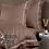 Thumbnail: Отельное постельное белье Simple,бронзовое с белой  полосой