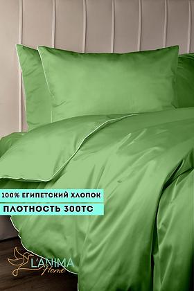 Комплект постельного белья Травяной Премиум Сатин