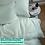 Thumbnail: Однотонное постельное белье из тенселя, цвет фисташковый