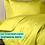 Thumbnail: Комплект постельного белья Желтый Премиум Сатин