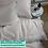 Thumbnail: Однотонное постельное белье из тенселя, цвет жемчужный