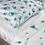 Thumbnail: Комплект постельного белья Перья голубого павлина