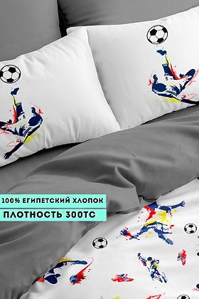 Комплект постельного белья Футболисты
