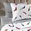 Thumbnail: Комплект постельного белья Разноцветные перья