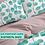 Thumbnail: Комплект постельного белья Голубые листья