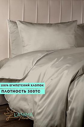 Комплект постельного белья Светлый беж Премиум Сатин
