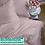 Thumbnail: Однотонное постельное белье из тенселя, цвет лилово-пудровый