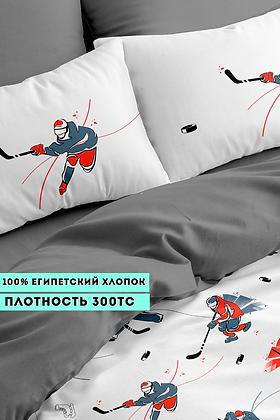 Комплект постельного белья Хоккеисты