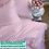 Thumbnail: Однотонное постельное белье из тенселя, цвет конфетный