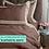 Thumbnail: Отельное постельное белье Megan, бронзовое с белой  полосой