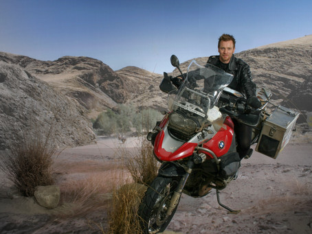 Ewan McGregor: Long Way Down shoot