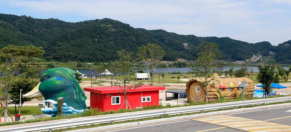 상주보 오토캠핑장