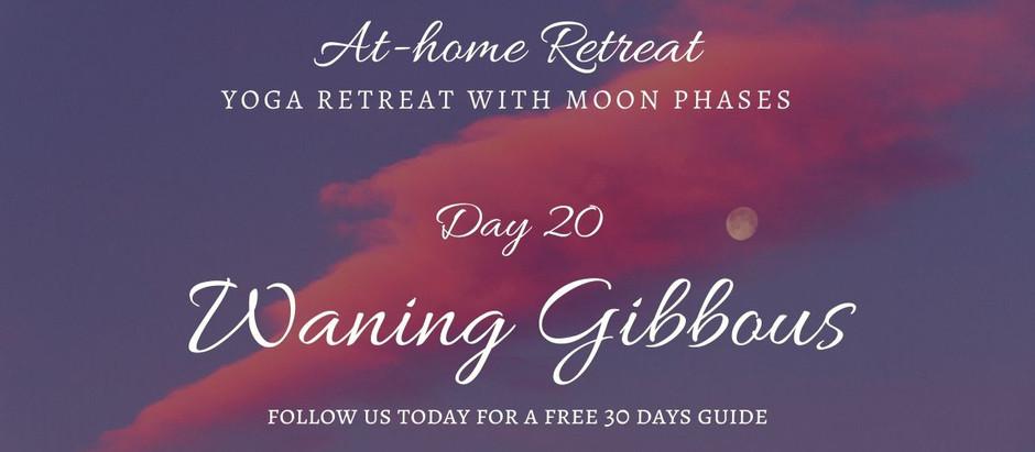 Day 20 Waning Gibbous
