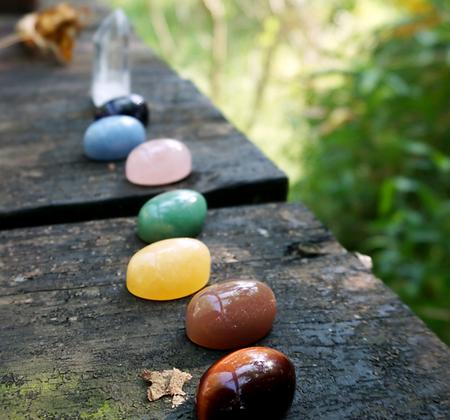 Rough Stone Set for Chakra Healing -Advanced Level