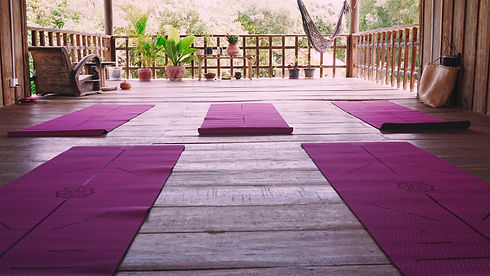 yoga plantform