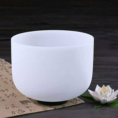 Frosted Crystal Singing Bowl