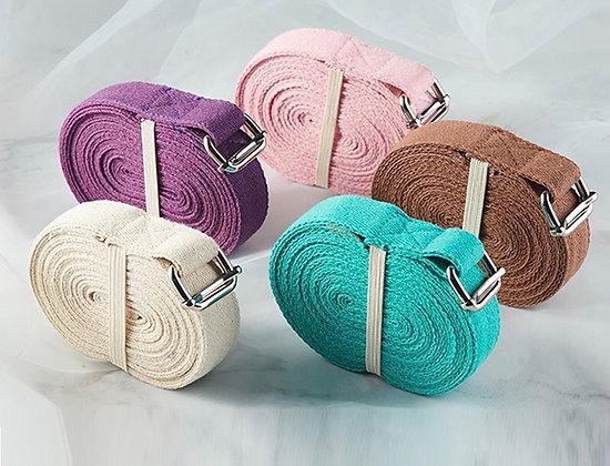 100% Cotton Iyengar Yoga Strap-3m