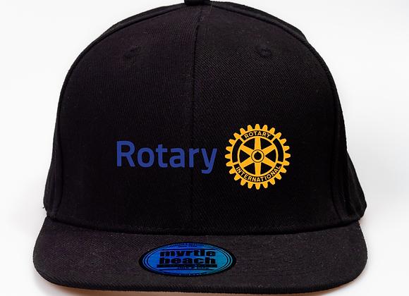 Hímzett Rotary Snapback Sapka