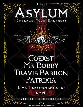 Asylum Nightlife Flyer