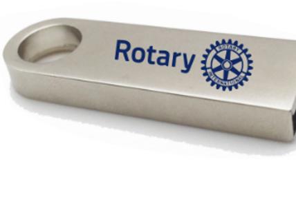 Rotary Fém USB